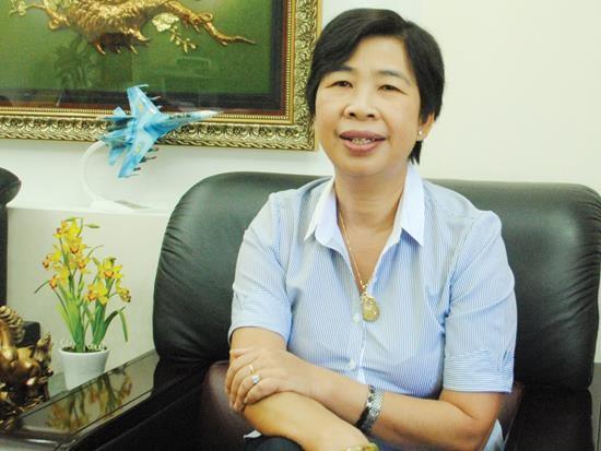 Nữ doanh nhân mê xây cảng
